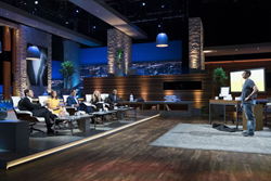 Thrive Plus pitching on the set of Shark Tank