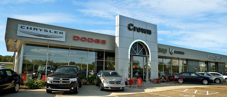 Crown motors chrysler dodge jeep ram announces president s for Crown motors holland michigan