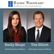 DuPage County Lawyers Tim Elliott, Emily Shupe Named to Super Lawyers Lists