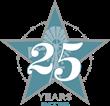 25th Anniversary Logo - Hyatt Regency Hill Country Resort and Spa