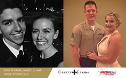 Meet the two couples that won the 2018 Castle Farms Military Wedding Giveaway