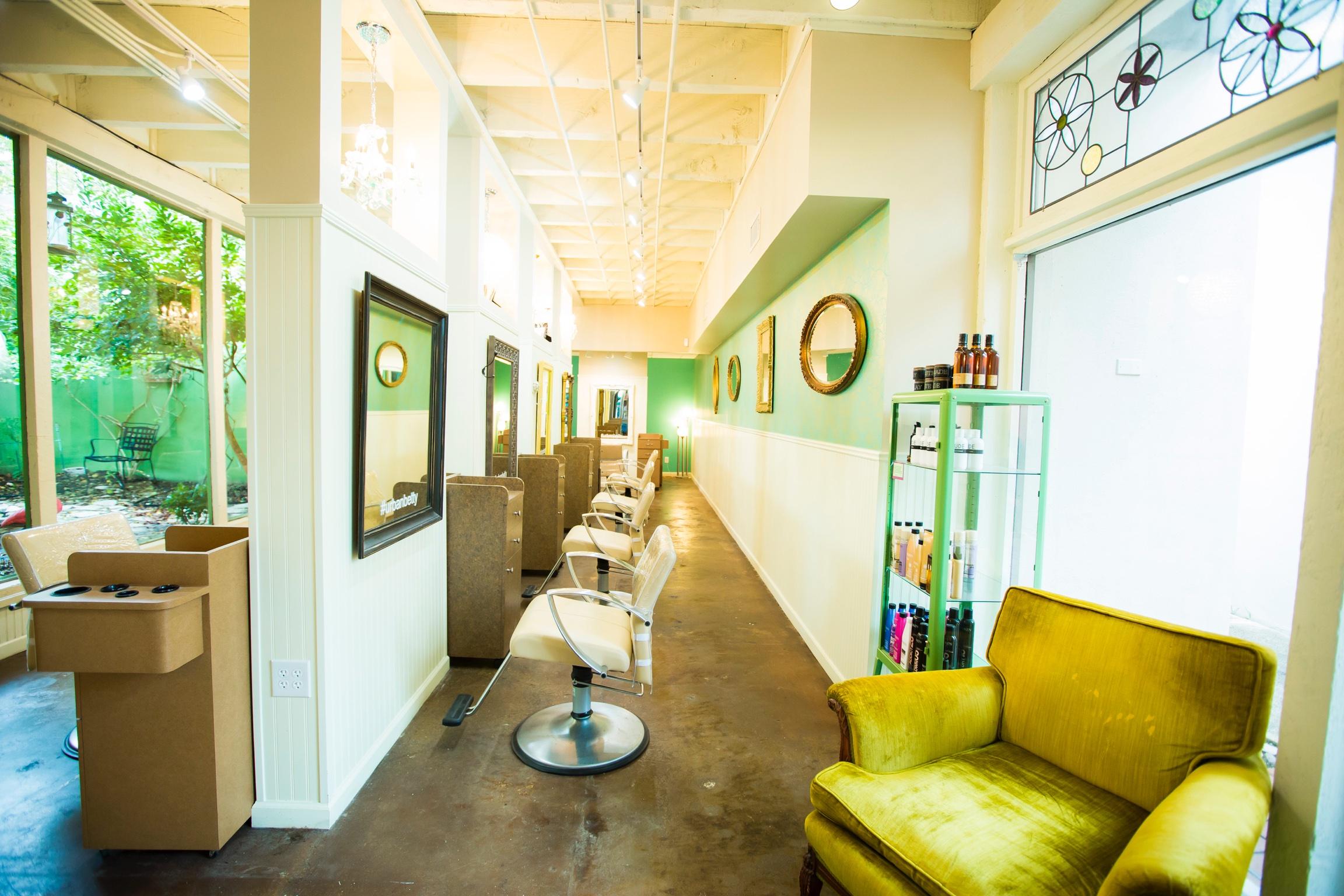 Woman owned business urban betty hair salon announces for 38th street salon