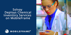 Solvay deploys Inventory Management System using MobileFrame Mobile App Development Platform