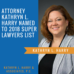 Oak Brook, IL Attorney Kathryn Harry Named to 2018 Super Lawyers List