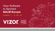 Vizor Software to Sponsor NALM Europe 2018