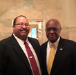 Attorney Michael Barnett David Shiner Law Group African American White House Event former candidate for President Herman Cain