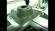Cutting Plastic Part with Co2 laser automation and Fixed Beam