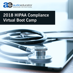 2018 HIPAA Compliance Virtual Boot Camp