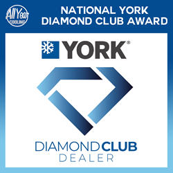 All Year Cooling Winner of 2017 National York Diamond Club Award