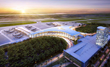 Louis Armstrong Airport expands: Located between a river and a lake, the dazzling new North Terminal is built to last – on an impermeable concrete foundation using PENETRON crystalline technology.