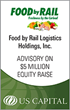 US Capital Advises on $5 Million Preferred Equity Raise for Food by Rail