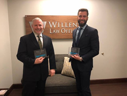 Chicago Personal Injury Lawyer Matt Willens and David Baez