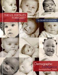 U.S. Fertility Forecast 2018 Quarter 1