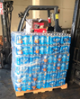 Water supplies being delivered to those in need