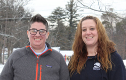 Sara Feldman and Sarah Ausman, Spaulding Youth Center employees and future TBRI® trainers