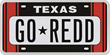 Racing Stripe Red Plate