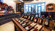 Memorable vintages: The Khareba Wine Store at the Porta Caucasia Hotel stocks choice vintages in the hotel's wine cellar, a waterproof PENETRON-treated concrete structure.