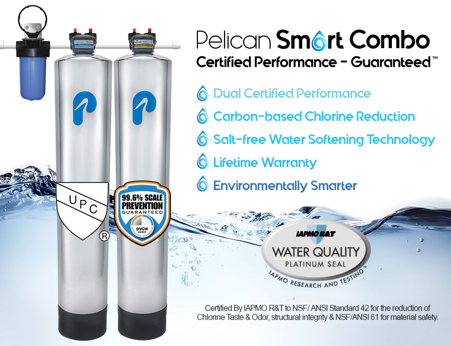 Pelican Water Releases First And Only Dual Certified Combo