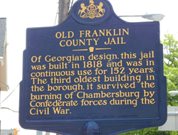 The Old Jail was built in 1818 and is celebrating 200 years.