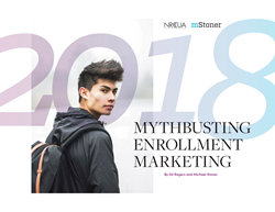 Mythbusting Enrollment Marketing white paper cover