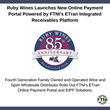 Ruby Wines Launches New Online Payment Portal Powered by FTNI's ETran Integrated Receivables Platform