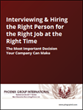 Phoenix Group International Launches Interviewing and Hiring eBook in Collaboration with Phoenix Strategic Performance