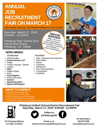 Flyer for Job Fair