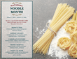 Romano's Macaroni Grill Hawaii Celebrates National Noodle Month