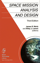 """""""Space Mission Analysis and Design"""" book cover"""