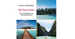 Win a £1,000 hotel stay from Hotel Bonanza