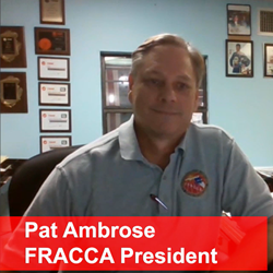 Pat Ambrose FRACCA President - FRACCA (Florida Refrigeration & Air Conditioning Contractors Association), Pushing the Envelope 2018 Educational Conference, is being held on March 13th, 14th and 15th in Orlando.