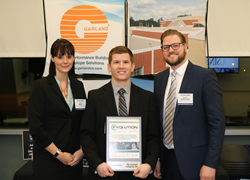 Garland received the 2018 Evolution of Manufacturing Award for its ability to successfully evolve its manufacturing operations to adapt to the global economy