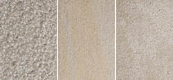 New Urban Hardscapes Textures from Indiana Limestone Company include Bush Hammer, Wire Brush, Sandblast or Abrasive