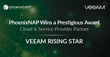 PhoenixNAP Wins Veeam Rising Star Cloud and Service Provider Partner Award