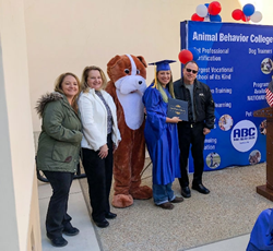 Animal Behavior College Commencement February 23, 2018
