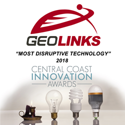 GeoLinks Awarded Most Disruptive Technology