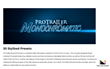 ProTrailer Monochromatic - Pixel Film Studios Effects - FCPX Plugins