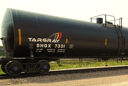 Targray biodiesel rail car