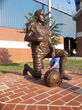 Big Statues Creates A Memorial of High School Football Player, Who's Story and Impact Will Bring Tears To Your Eyes