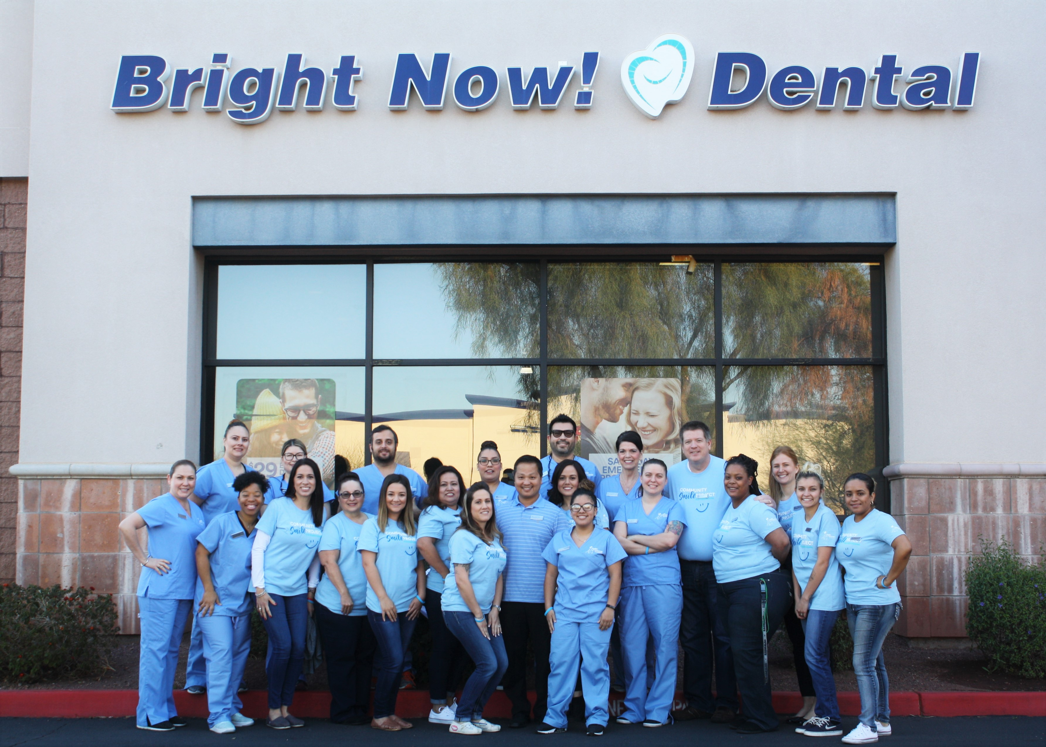 Bright Now  Dental In Avondale  Az Opens Its Doors For A Day Of Giving