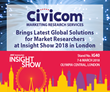 Civicom Brings Latest Global Solutions for Market Researchers to Insight Show 2018 in London