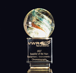 Stirling Ultracold Ultra-Low Freezer VWR Award