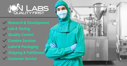 Ion Labs Custom Supplement Manufacturing