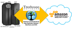 Treehouse Software Mainframe to AWS Data Migration