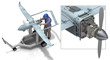 LiquidPiston Engine Fitted to UAV