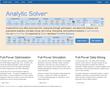 AnalyticSolver.com Cloud Platform