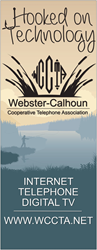 Webster-Calhoun Cooperative Telephone Association (WCCTA) Announces Annual Meeting For Members Is Tuesday, March 20th At 7:00 PM At The Southeast Valley High School