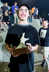 Monster Energy's Trey Wood Wins Concrete Bowl Skateboard Competition at Tampa Pro 2018