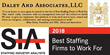 Daley and Associates Named 'Best Staffing Firm to Work For' By Staffing Industry Analysts