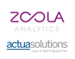 Lambda Solutions' Zoola Analytics™ and Actua Solutions form Strategic Partnership to provide LMS Reporting and Analytics Capabilities to Moodle and Totara Customers